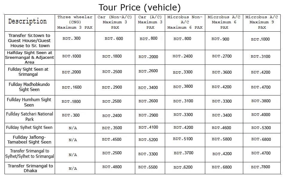 Tour-Price-